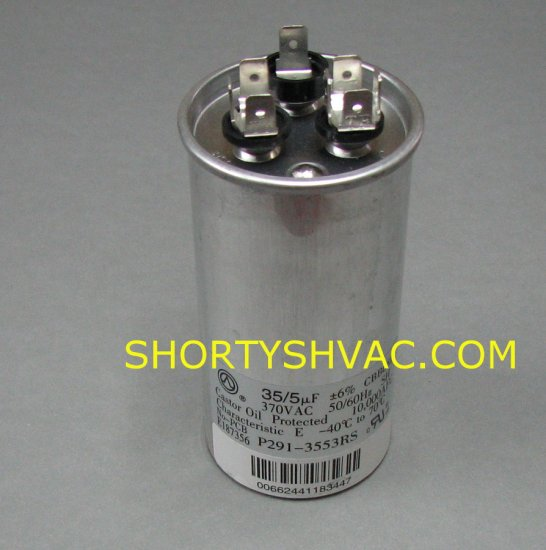 Carrier Dual Run Capacitor P291-3553RS