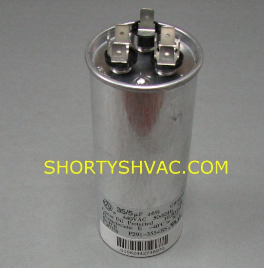 Carrier Dual Run Capacitor P291-3554RS