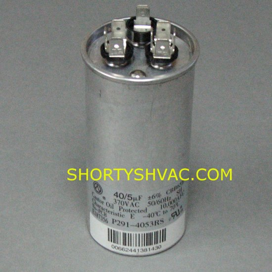 Carrier Dual Run Capacitor P291-4053RS