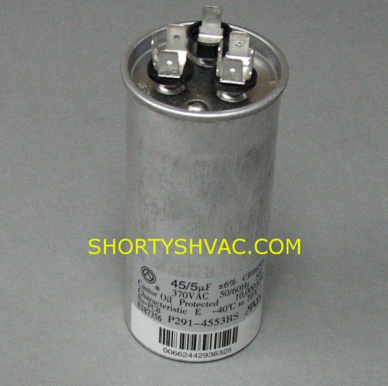 Carrier Dual Run Capacitor P291-4553RS