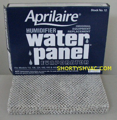 Aprilaire Stock 12 Water Panel