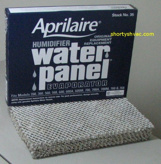 Aprilaire Stock 35 Water Panel 10 Pack