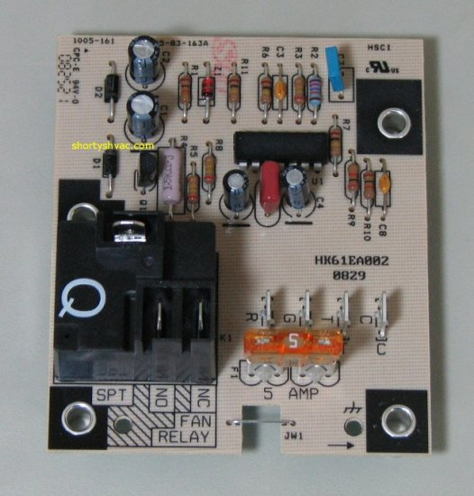 Carrier Fan Control Circuit Board HK61EA002