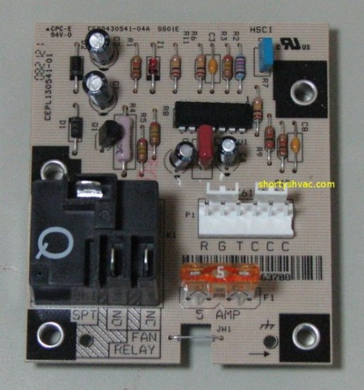 Carrier Fan Control Circuit Board HK61EA006