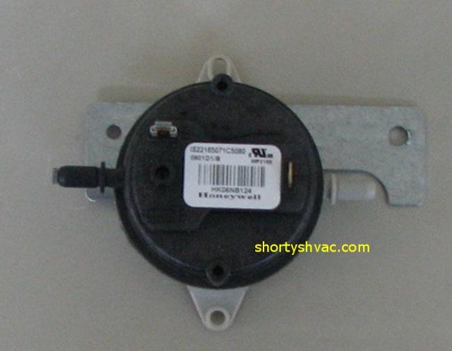 Honeywell Draft Pressure Switch Is22165071c5080 Hk06nb124