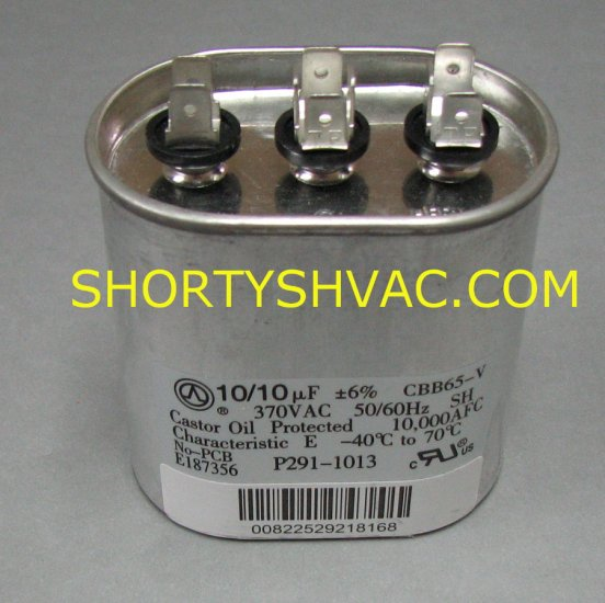 Carrier Dual Run Capacitor P291-1013