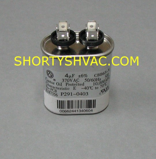 Carrier Run Capacitor P291-0403