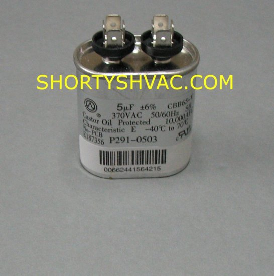Carrier Run Capacitor P291-0503