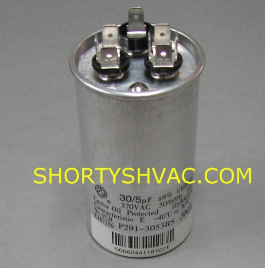 Carrier Dual Run Capacitor P291-3053RS