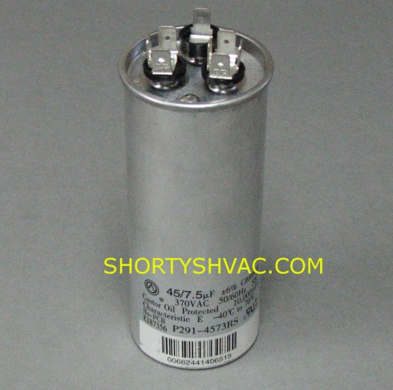 Carrier Dual Run Capacitor P291-4573RS