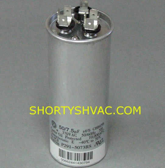 Carrier Dual Run capacitor P291-5073RS