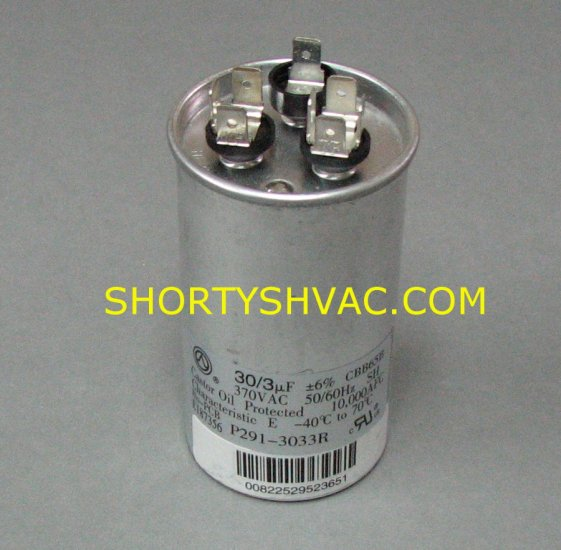 Heil Round Style Dual Capacitor 1186415