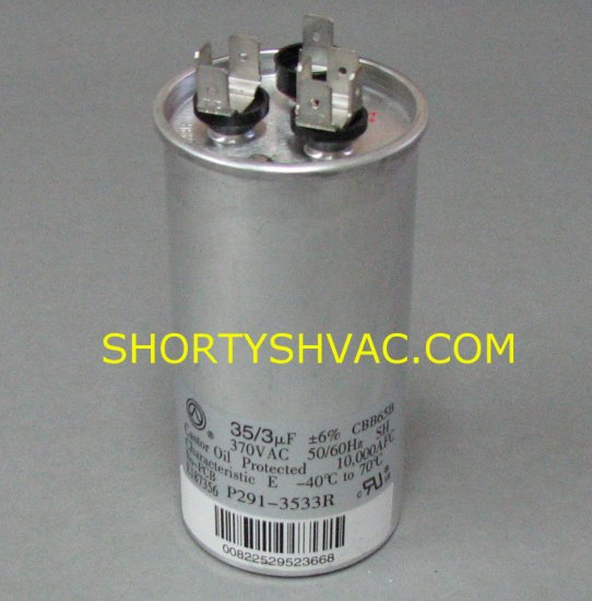 Heil Round Style Dual Capacitor 1172091