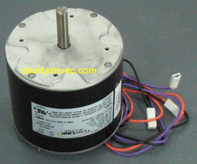 Lennox 1 10 hp condenser fan motor 12f49 12f49 for Lennox condenser fan motor