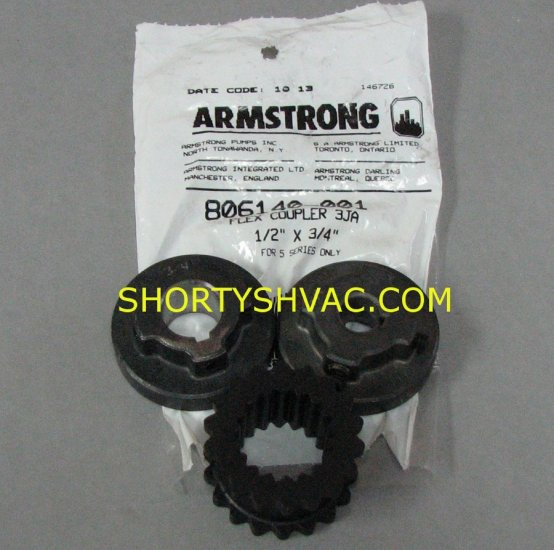 Armstrong Woods Style Pump Coupler 806140-001