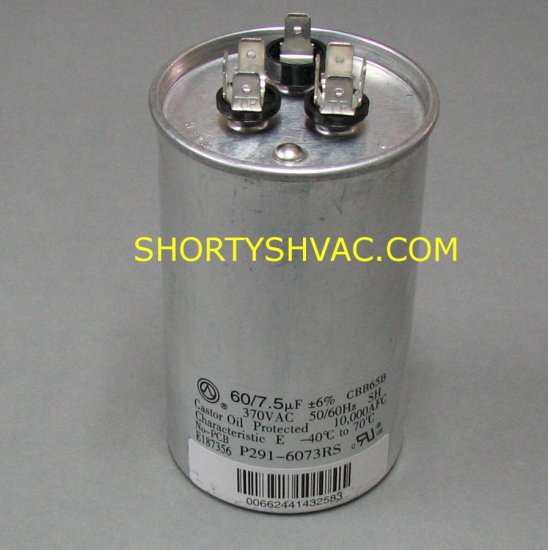 Carrier Dual Run Capacitor P291-6073RS