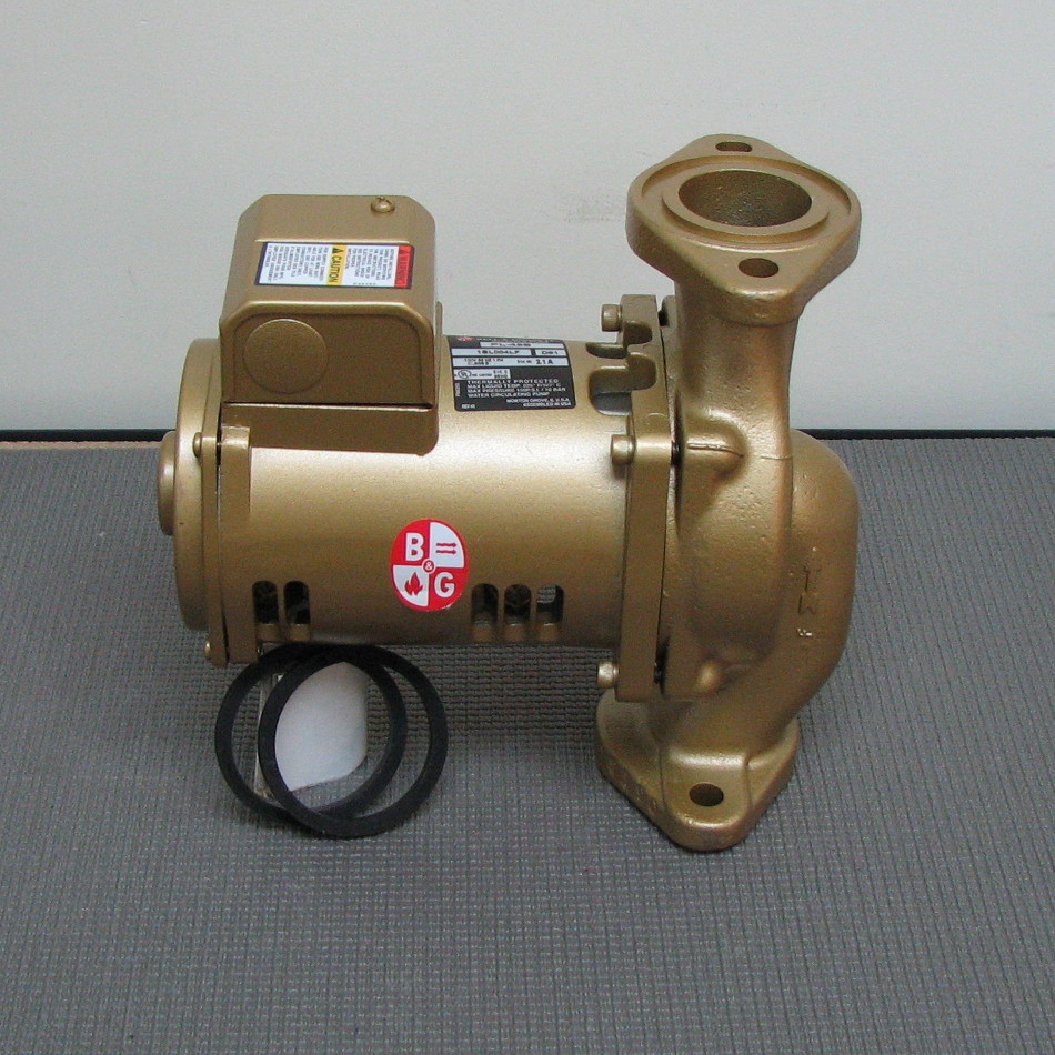 Bell & Gossett Bronze Circulator Model PL45-B